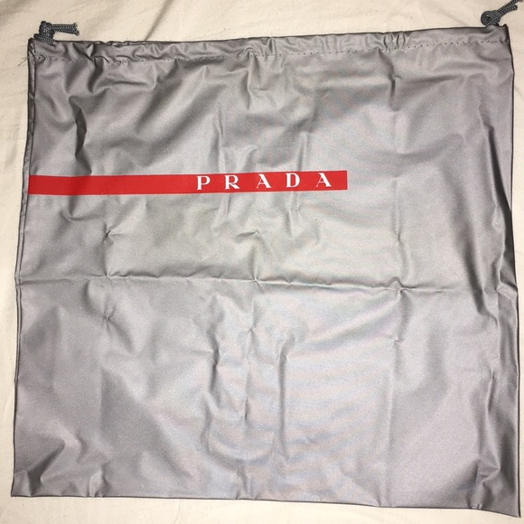 Prada Accessories - Prada sport dust bag with measurements